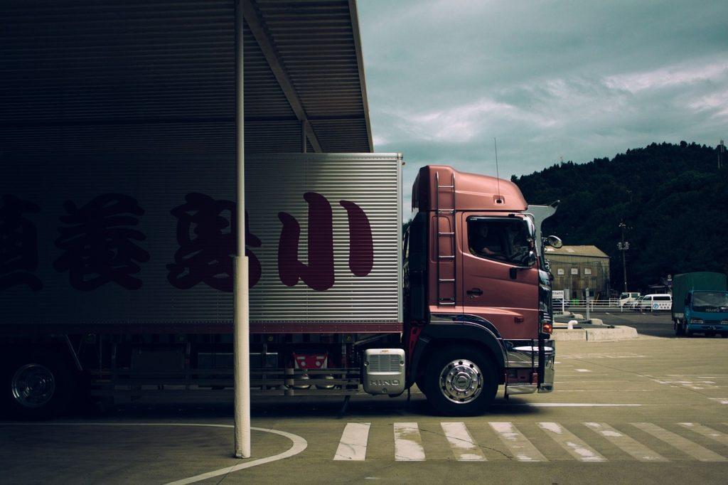 truck, lorry, transportation